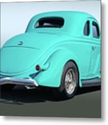 1936 Ford Coupe Metal Print