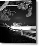 8-8-16--7126 Black And White, Cruzin The Back Road, Don't Drop The Crystal Ball Metal Print