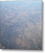 An Aerial View Of Ohio Metal Print