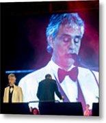 Andrea Bocelli In Concert Metal Print