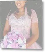 Ashley's Quinceanera Metal Print