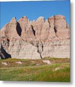 Badlands National Park South Dakota Metal Print