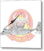 Bell Boeing Mv-22b Osprey Metal Print