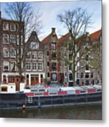 Channels Of Amsterdam Metal Print