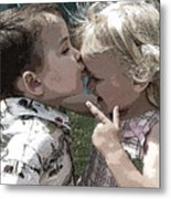 Children Series Metal Print