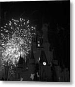 Cinderella Castle Metal Print