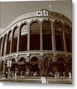 Citi Field - New York Mets Metal Print by Frank Romeo