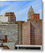 Cleveland Skyline Metal Print