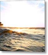 Cocoa Beach Pier Metal Print