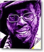 Curtis Mayfield Collection Metal Print