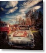 Derelict Transport Metal Print