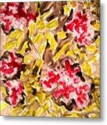 Divine Flower Metal Print