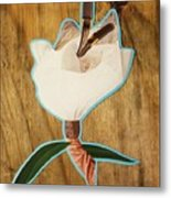 Fashion Fleurward  Metal Print