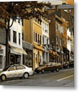 Greenwich Avenue Metal Print