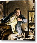 James Watt, Scottish Inventor Metal Print