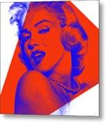 Marilyn Monroe Collection Metal Print