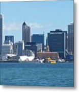 New Zealand - The Sea Heart Of Auckland Metal Print