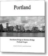 Portland Metal Print
