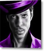 Prince Tribute Metal Print