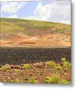 Rural Landscape In Ethiopia Metal Print