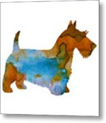 Scottish Terrier Metal Print