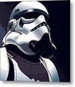 Star Wars The Trilogy Poster Metal Print