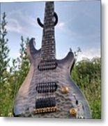 8 String Esp Ltd Jr608 Metal Print