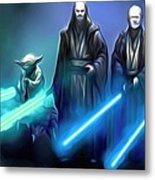 The Star Wars Poster Metal Print