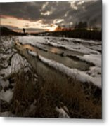 The Winter Time Metal Print