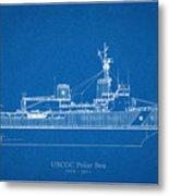 U.s. Coast Guard Cutter Polar Sea Metal Print