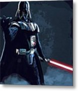Wars Star Art Metal Print