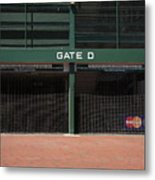 Wrigley Field - Chicago Cubs Metal Print
