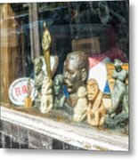 8238- Little Havana Store Metal Print