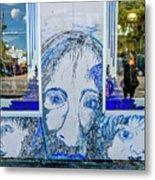 8261- Little Havana Mural Metal Print