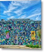 8276- Little Havana Mural Metal Print