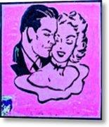 8280- Little Havana Mural Metal Print