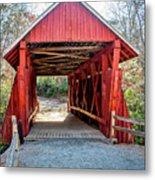 8351- Campbell's Covered Bridge Metal Print