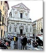 winter in Rome Metal Print