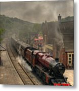 8624 At Froghall Station Metal Print
