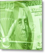 Time Is Money 17 Metal Print