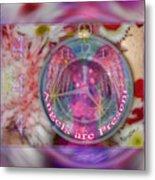 #8913_444 Angels Are Present 2 Metal Print
