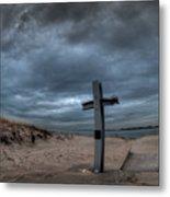 9/11 Memorial In Breezy Point New York Metal Print