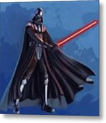 A Star Wars Poster Metal Print