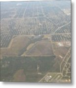 An Aerial View Of Fort Myers Metal Print