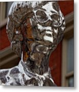 Andy Warhol Statue Union Square Nyc Metal Print