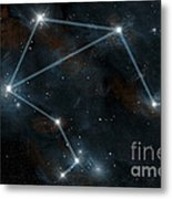 Artists Depiction Of The Constellation Metal Print