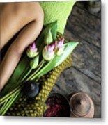 Asian Massage Spa Natural Organic Beauty Treatment Metal Print