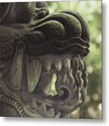 Bali Sculpture Metal Print