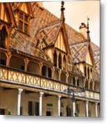 Beaune Metal Print
