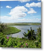 Cape Cod Salt Pond Metal Print